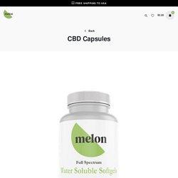 Pure CBD Capsules - Melon CBD