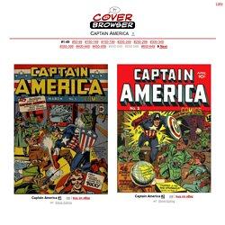 Captain America Covers