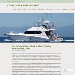 Captain's Report – Chupacabra Sport Fishing