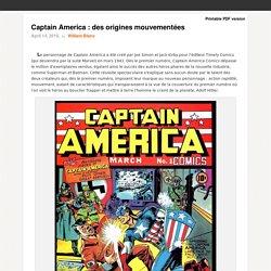 Captain America : des origines mouvementées