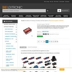 Joy-It Kit de 40 capteurs SEN-X40 pour arduino/Raspberry Pi