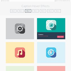 Caption Hover Effects - Demo 3