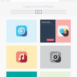 Caption Hover Effects - Demo 4