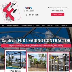 Captiva, Florida's Leading Pool Screen Enclosure Contractor