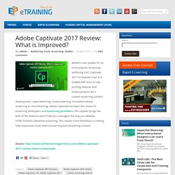 Adobe Captivate 2017 Review: What is Improved?