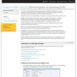 Sistema de gestión de aprendizaje (LMS)