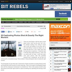 20 Captivating Photos Shot At Exactly The Right&8230; | Bit Rebels - StumbleUpon