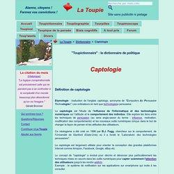 Captologie