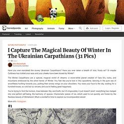 I Capture The Magical Beauty Of Winter In The Ukrainian Carpathians (31 Pics)
