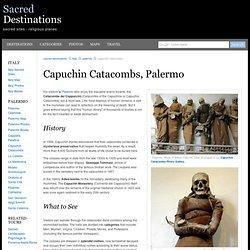 Capuchin Catacombs - Palermo, Italy
