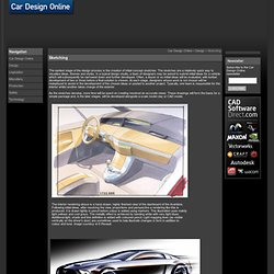 Car Design Online | Sketching