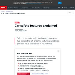 Car safety features explained