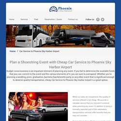 Car Service to Sky Harbor Airport