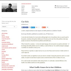 Car Sick – George Monbiot