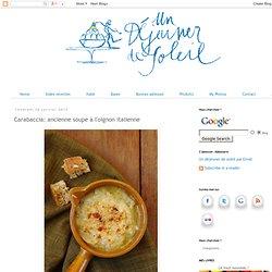 Carabaccia: ancienne soupe à l'oignon italienne