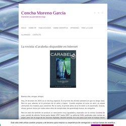 La revista «Carabela» disponible en Internet – Concha Moreno García
