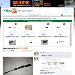 CARABINE 4,5 GAMO (407460) sur NaturaBuy chasse pêche