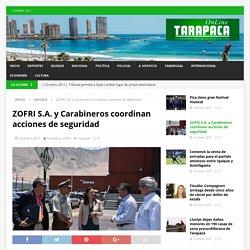 ZOFRI S.A. y Carabineros coordinan acciones de seguridad – Tarapaca Online