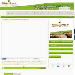 Les méthodes de caractérisation des variétés de blé tendre - ArvalisTv