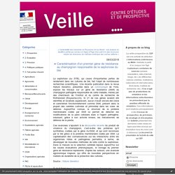 MAA CEP 08/03/18 Caractérisation d'un premier gène de résistance au champignon responsable de la septoriose du blé