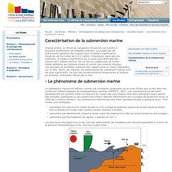 Caractérisation de la submersion marine — Littoral Languedoc Roussillon