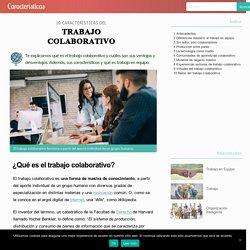 10 Características del Trabajo Colaborativo