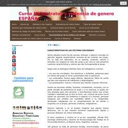Caracteristicas de la victima con riesgo - Formacion a distancia toda España y Latinoamerica