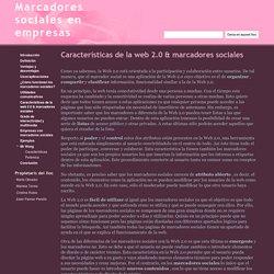 Características de la web 2.0 & marcadores sociales - Marcadores sociales en empresas