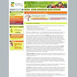 Agence fruits et légumes frais : fiches nutritionnelles par produits - Les principales caractéristiques
