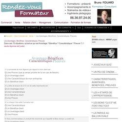 Quiz de vente : CAP Caractéristiques, Avantages, Preuves