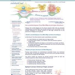 Les caractéristiques d'une Mind Map et principes directeurs du Mind Mapping