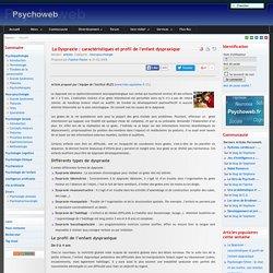 La Dyspraxie : caractéristiques et profil de l'enfant dyspraxique