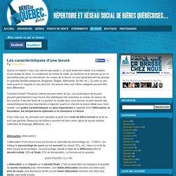 Les caractéristiques d'une levure « Bières du Québec – Blogue