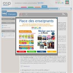 Les caractéristiques du genre poétique - Réviser le cours - Français - Seconde - Assistance scolaire personnalisée et gratuite - ASP