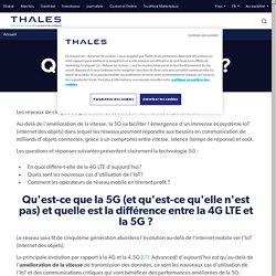 Qu'est-ce que la 5G? Caractéristiques et utilisations