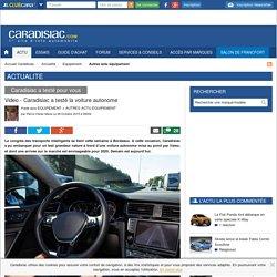 Video - Caradisiac a testé la voiture autonome