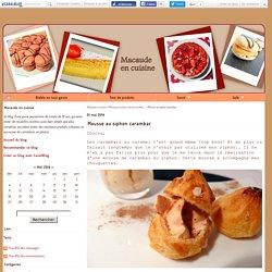 Mousse au siphon carambar - Macaude en cuisine
