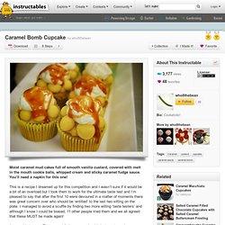 Caramel Bomb Cupcake