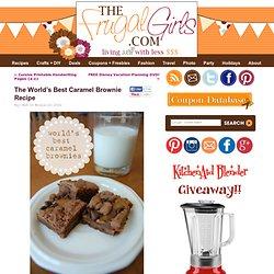 Caramel Brownie Recipe in Chic and Crafty, Dessert Recipes, Fall, Recipes