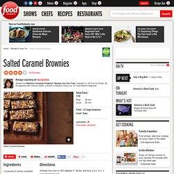 Salted Caramel Brownies Recipe : Ina Garten