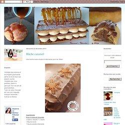 Caramel Chocolat: Bûche caramel
