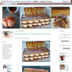 Mille-feuille crousti-coulant caramel au beurre salé