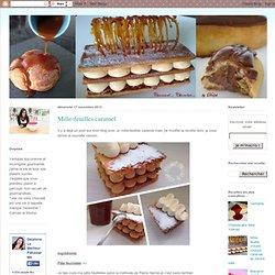 Caramel Chocolat: Mille-feuilles caramel