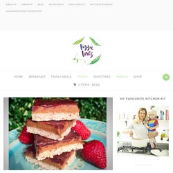 Raw Salted Caramel Chocolate Slices – Lizzie Loves Healthy