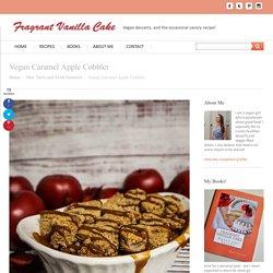 Vegan Caramel Apple Cobbler