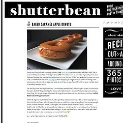 Baked Caramel Apple Donuts › shutterbean