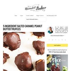 Caramel Peanut Butter Truffles