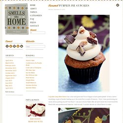 Caramel Pumpkin Pie Cupcakes