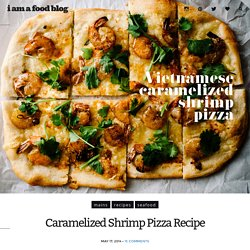 Caramelized Shrimp Pizza Recipe
