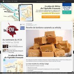 Caramels fudge au whisky